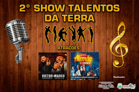 Left or right 12 vem a 2 edi o do show talentos da terra